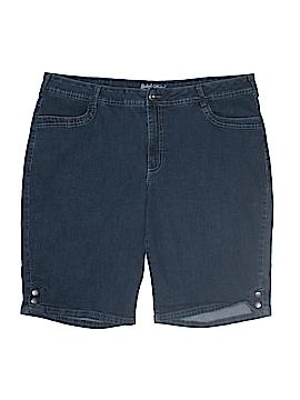 Faded Glory Denim Shorts Size 22 W (Plus)