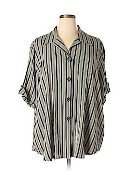 DressBarn Short Sleeve Blouse Size 22 - 24 (Plus)