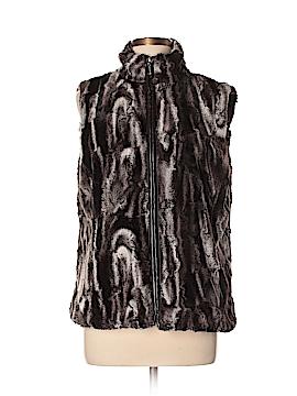 Erin London Faux Fur Jacket Size L