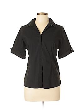 Lands' End Short Sleeve Button-Down Shirt Size 12