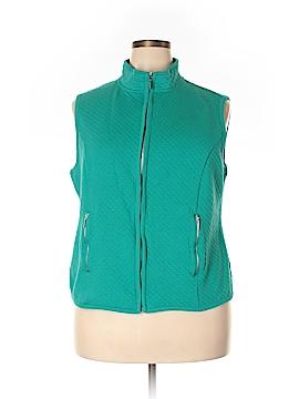 Karen Scott Sport Vest Size 1X (Plus)
