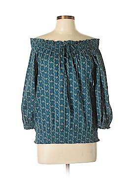 L-RL Lauren Active Ralph Lauren 3/4 Sleeve Blouse Size M