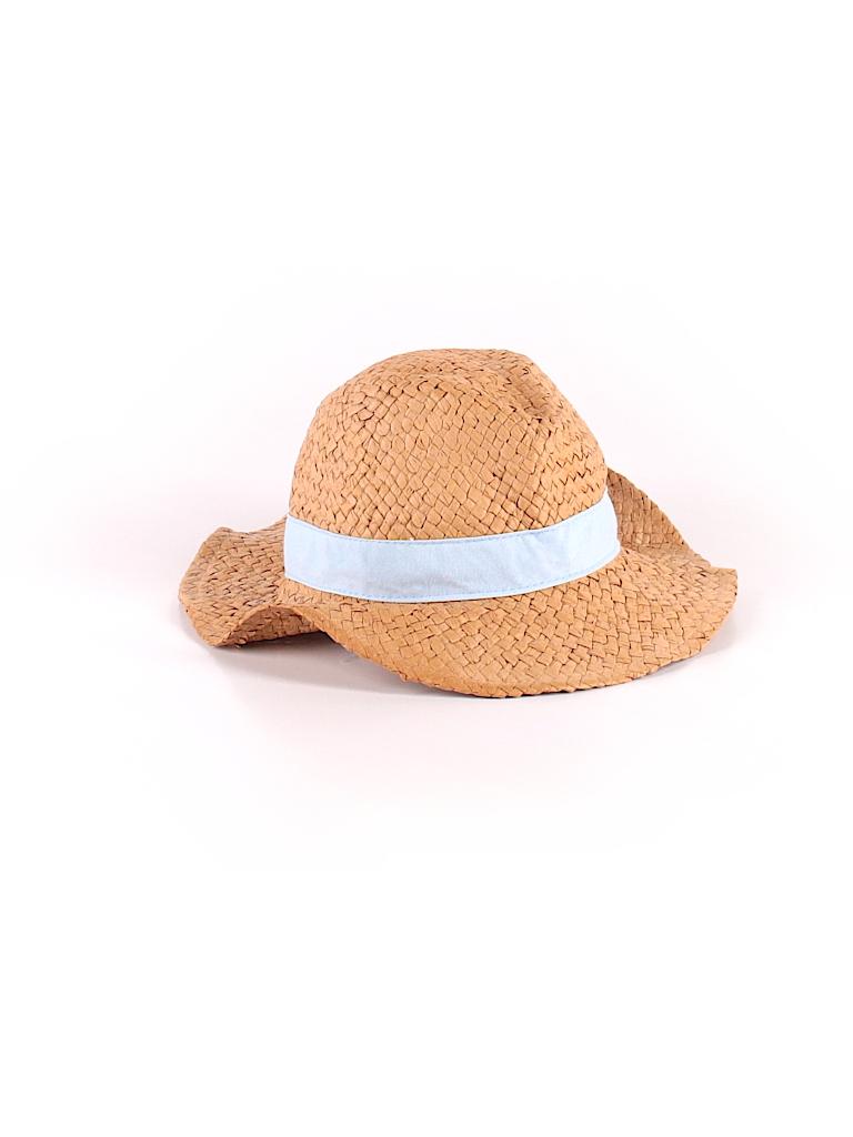 Baby Gap 100% Paper Solid Tan Sun Hat Size X-Small (Kids) - 60% off ... ef9eeb77238