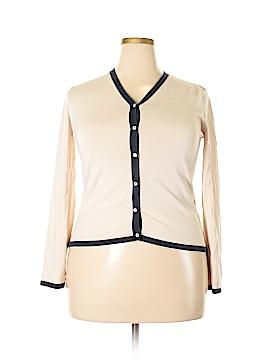 Lauren by Ralph Lauren Silk Cardigan Size XL
