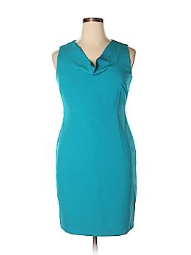 Calvin Klein Casual Dress Size 14 (Petite)