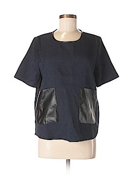 W118 by Walter Baker Short Sleeve Blouse Size M