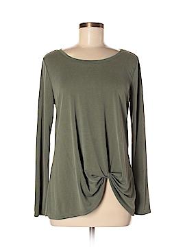 Green Envelope Long Sleeve Top Size M