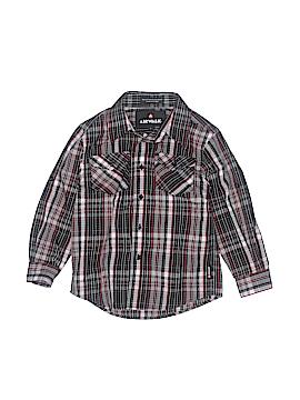 Airwalk Long Sleeve Button-Down Shirt Size 6