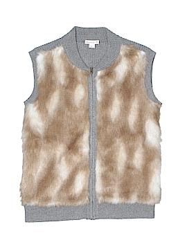 Crewcuts Faux Fur Vest Size 14