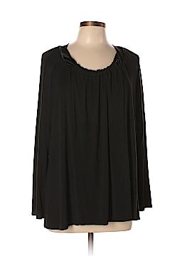 Carole Hochman Long Sleeve Top Size M