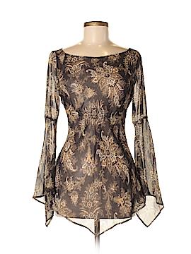Express Long Sleeve Silk Top Size 5/6