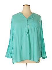 Grand & greene Women Long Sleeve Blouse Size 2X (Plus)