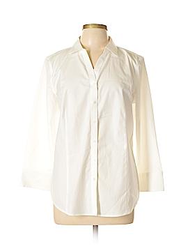Talbots Long Sleeve Button-Down Shirt Size 14