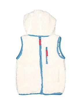 Mini Boden Faux Fur Vest Size 4 - 5