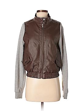C'est Toi Faux Leather Jacket Size M