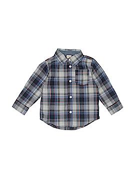 Gymboree Long Sleeve Button-Down Shirt Size 18-24 mo
