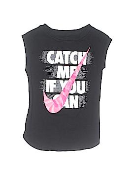 Nike Sleeveless T-Shirt Size 4