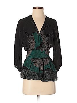 Maple 3/4 Sleeve Silk Top Size 4