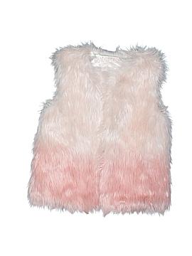 Genuine Kids from Oshkosh Faux Fur Vest Size 4T