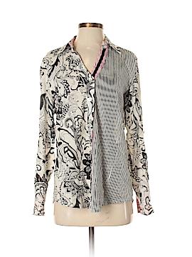Bleu Bayou Long Sleeve Button-Down Shirt Size S