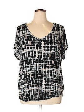 Simply Vera Vera Wang Short Sleeve Top Size 3X (Plus)
