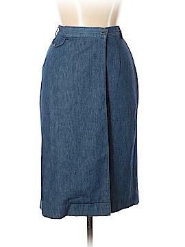 Ralph Lauren Blue Label Denim Skirt Size 8