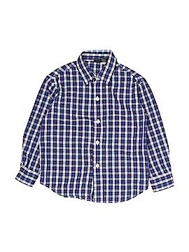 Nautica Long Sleeve Button-Down Shirt Size 4