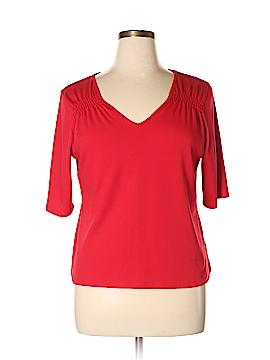 Josephine Chaus 3/4 Sleeve Top Size XL