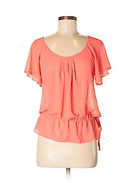 XXI Short Sleeve Blouse Size S (Petite)