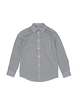 Cat & Jack Long Sleeve Button-Down Shirt Size M (Kids)