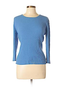 Chadwicks Long Sleeve Silk Top Size L