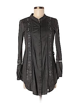 MONORENO Long Sleeve Button-Down Shirt Size S