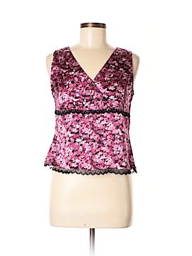 Amanda Smith Sleeveless Silk Top Size 8