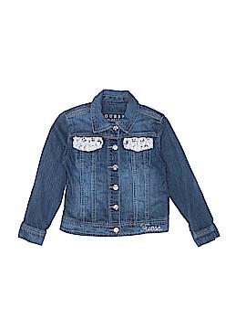 Guess Denim Jacket Size 5
