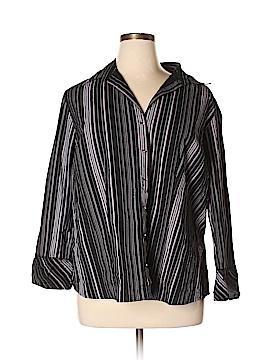 Carolina Colours Long Sleeve Button-Down Shirt Size 18/20 (Plus)