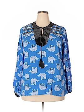 Crown & Ivy Long Sleeve Blouse Size 1X (Plus)