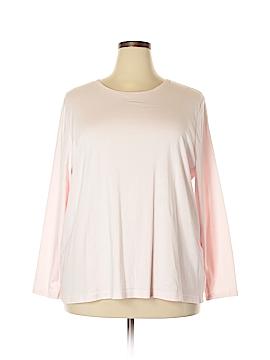 Croft & Barrow 3/4 Sleeve T-Shirt Size 3X (Plus)