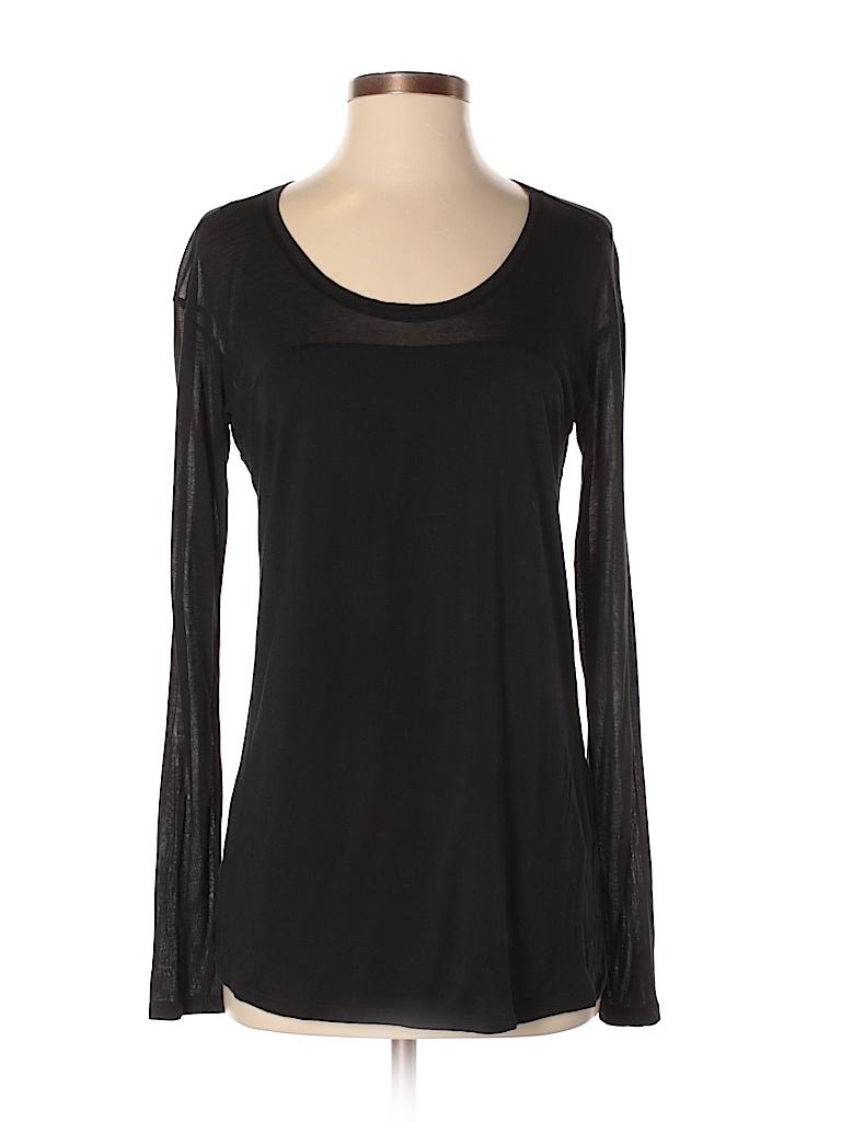 0427af04 Bella Luxx Solid Black Long Sleeve T-Shirt Size M - 71% off | thredUP