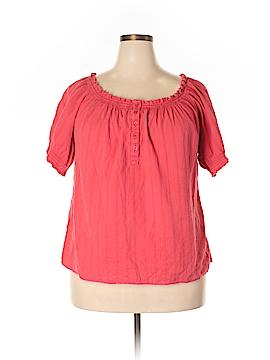 Venezia Short Sleeve Henley Size 18 - 20 Plus (Plus)