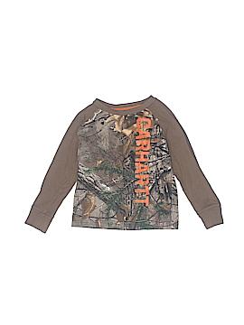Carhartt Long Sleeve T-Shirt Size 3T