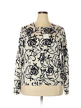 Kate Hill Wool Cardigan Size 2X (Plus)