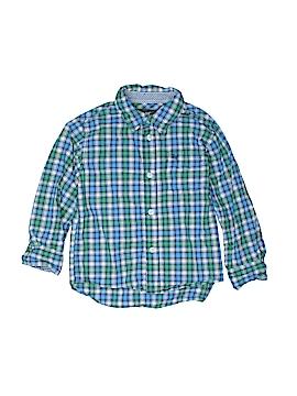 H&M Long Sleeve Button-Down Shirt Size 3 - 4