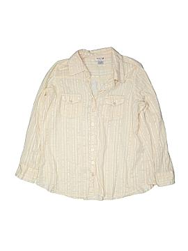 MKM Designs Long Sleeve Button-Down Shirt Size XL