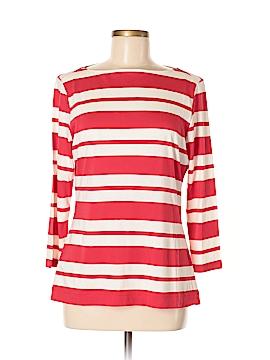 L.L.Bean Signature 3/4 Sleeve T-Shirt Size M