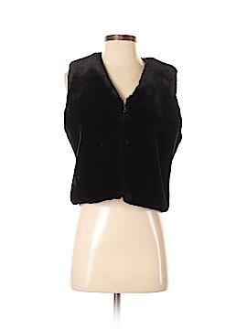 Cambridge Dry Goods Faux Fur Vest Size M