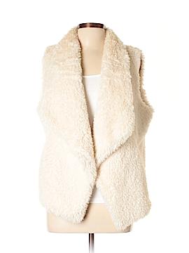 Calvin Klein Faux Fur Vest Size L