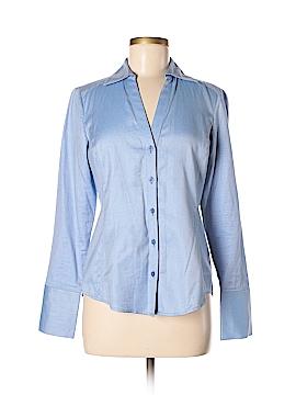 Ann Taylor Factory Long Sleeve Button-Down Shirt Size 2