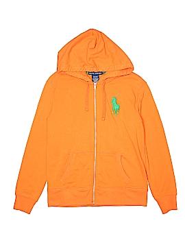 Ralph Lauren Zip Up Hoodie Size L (Youth)