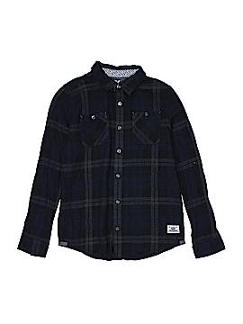 Shaun White Long Sleeve Button-Down Shirt Size 12 - 14
