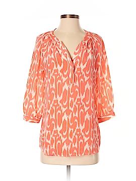 Ellie Kai 3/4 Sleeve Silk Top Size XS